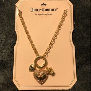 NWT•FOR NICOLE-Juicy Couture Charm necklace